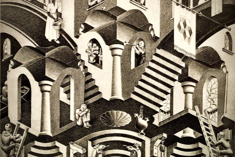 Escher in mostra a Treviso: un'occasione imperdibile
